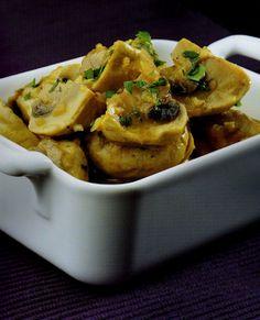 Hoy cocina Thermomix: Thermomix cocina: Champiñones en salsa #salsas