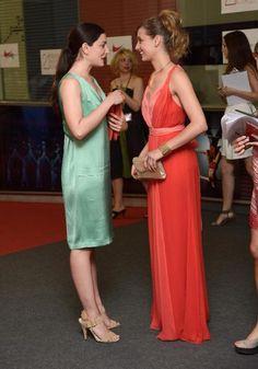 Bárbara Lennie y Michelle Jenner en los XXI Premios Unión de Actores