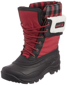 Kamik Women's Sugarloaf Boot,Red,8 M US