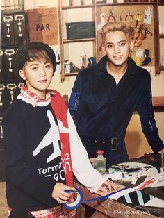 Seungkwan & Mingyu