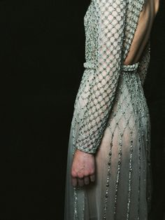 like armor, the most exquisite armor - Valentino Haute Couture, Fall/Winter 2011
