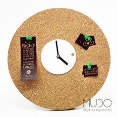 Pincho Reloj Expresivo - MUDO - Ventas Privadas