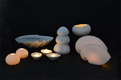 #lunac #porcelain #lunadelmar #sea #shells #urchin #rafiki #candle #patella #clam Clam, Sea Shells, Candle, Inspiration, Del Mar, Porcelain, Biblical Inspiration, Seashells, Shells