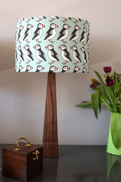 #Lampe #Pinguin #Holz #Beleuchtung #niedlich #Tiere #suess