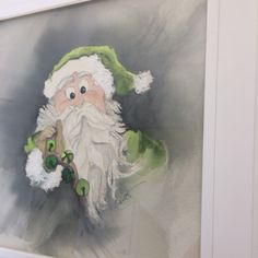 """MEDICAL EXPENSE SALE!  Take advantage of my off season medical expense sale. Due to medical issues I'm dealing with I am selling my popular """"Silly Santa Series"""" , the first three paintings, at half price!"""