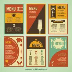 diseño menus restaurantes - Buscar con Google