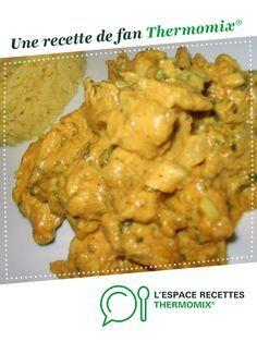 Poulet a l indienne par vivinuts. Une recette de fan à retrouver dans la catégorie Viandes sur www.espace-recettes.fr, de Thermomix®.