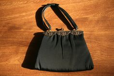 Vintage 1950s After Five little black purse by letslovevintage, $55.00