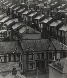 Bill Brandt. Rainswept Roofs. 1933