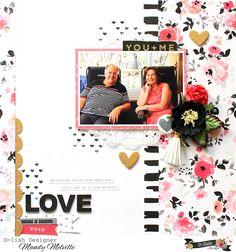 My happy place...: Love | D-lish Scraps Cybercrop Layout