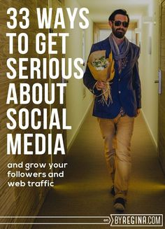 How to Get Serious About Social Media. 33 ways to get even more awesome at #socialmedia.http://byregina.stfi.re/serious-social-media/?sf=vxevgxo