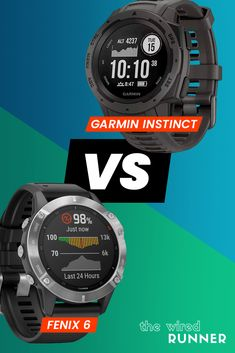 Garmin Instinct Vs fenix 6 - Which Watch Is Right For You? Running Gps, Running On Treadmill, Marathon Running, Indoor Rowing, Indoor Track, Workout Gear, Fun Workouts, Fitness Tracker, Fitness Tips