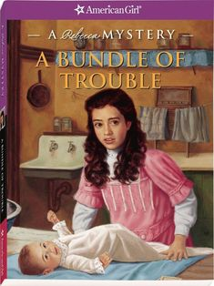 The Paperback of the A Bundle of Trouble: A Rebecca Mystery (American Girl Mysteries Series) by Kathryn Reiss, Sergio Giovine American Girl Doll Rebecca, American Girl Books, Teen Series, Girls Series, Ag Dolls, Girl Dolls, Mystery Series, Mystery Books, Boys Playing