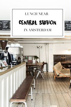 """Looking for a lunchspot near Amsterdam's central station? There's a list on travel blog http://www.yourlittleblackbook.me with 7 of the best restaurants, cafes & bars to have lunch in Amsterdam. Planning a trip to Amsterdam? Check http://www.yourlittleblackbook.me/ & download """"The Amsterdam City Guide app"""" for Android & iOs with over 550 hotspots: https://itunes.apple.com/us/app/amsterdam-cityguide-yourlbb/id1066913884?mt=8 or https://play.google.com/store/apps/details?id=com.app.r3914JB"""