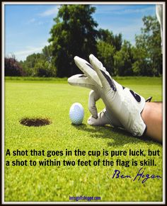 Image result for luck and golf