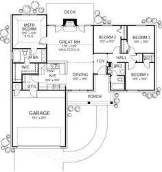 Plan #80-102 - Houseplans.com