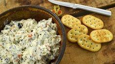 Olive Dip - Cream Cheese Appetizer | Radacutlery.Com -- Watch Rada Cutlery create this delicious recipe at http://myrecipepicks.com/26549/RadaCutlery/olive-dip-cream-cheese-appetizer-radacutlery-com/