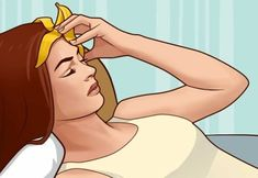 Have a Migraine Headache? Just Place a Banana Peel on Your Forehead! – Ladies Health Tips How To Grow Eyelashes, Longer Eyelashes, Migraine Headache, Migraine Remedy, Chronic Migraines, How To Relieve Headaches, Light Sensitivity, Healthy Lifestyle Tips, Beauty Tips