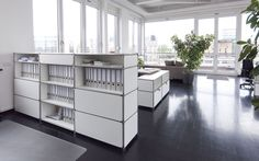 Modulare Büroeinrichtung, Möbelbausystem, enervis | System 180