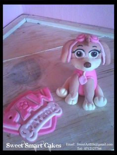 Paw Patrol for girls (Skye) Bloemfontein, ZA Paw Patrol, Cupcake Toppers, Icing, Cake Decorating, Cakes, Sweet, Girls, Candy, Daughters
