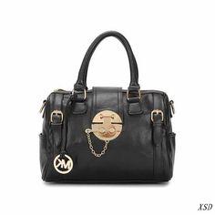 8105bc41f6e2 Perfect Michael Kors Soft Leather Medium Black Totes
