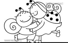 bogyó és babóca - Google Search Fun Crafts, Crafts For Kids, Mandala Painting, Colouring Pages, Origami, Hello Kitty, Cross Stitch, Clip Art, Make It Yourself