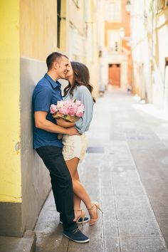 Photography: Anna Roussos - Photographer - annaroussos.com  Read More: http://www.stylemepretty.com/destination-weddings/2014/10/06/sunlit-french-riviera-engagement-session/