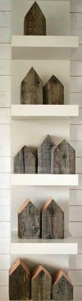 Træ huse