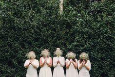 love this bridesmaids photo