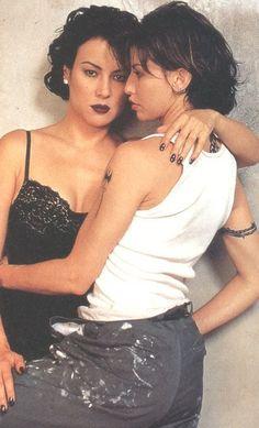 Jennifer Tilly & Gina Gershon