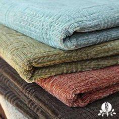 Cotton velvet for beautiful texture.  Suzanne Tucker Home