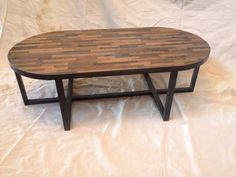 Industrial Rustic Oval Coffee Table By MetalTreeFurniture On Etsy
