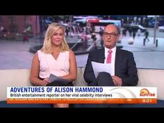 Sunrise tv Alison hammond - YouTube Uk Tv, Radio Personality, Sunrise, Interview, Entertainment, Adventure, Celebrities, Funny, Youtube