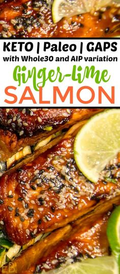 Ginger-Lime Salmon -Keto