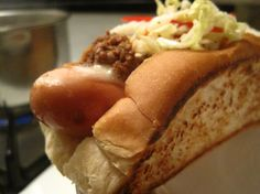 New England Chili Dogs with Pepper Hash Recipe on Yummly