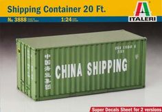 Italeri 1/24 Shipping Container 20'