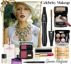 """Celebrity Makeup Makeover"" by mzdiamondgirl ❤ liked on Polyvore"