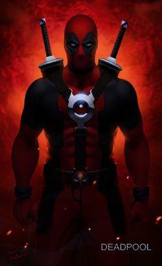 #Deadpool #Fan #Art. (DEADPOOL) By: SchneeKatze09. [THANK U 4 PINNING!!]