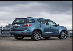 Chevy Trailblazer Wallpaper