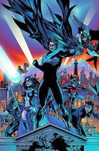 Looks Like Batman Wont Be Fighting Alone in Arkham Knight - Be Batman - Ideas of Be Batman - Nightwing Robin Huntress Catwoman Batwoman Panther Batwoman, Batgirl, Marvel Dc Comics, Dc Comics Art, Comic Book Characters, Comic Book Heroes, Comic Books, Teen Titans, Nightwing And Starfire