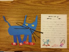 I LOVE Pete the Cat!  Little Miss Glamour Goes To Kindergarten: book and author work