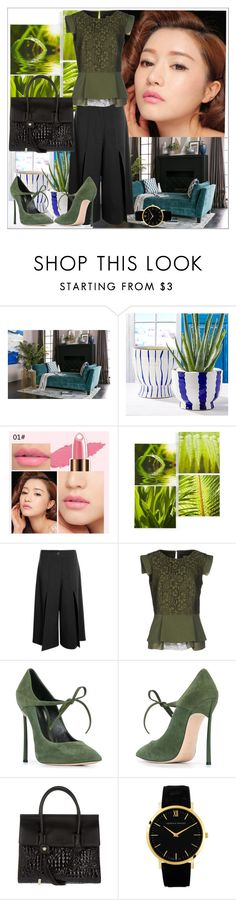 """""""Suede Shoes and Cullots"""" by anifitria-af ❤ liked on Polyvore featuring Graham & Brown, Boohoo, Class Roberto Cavalli, Casadei, Versace and suedeshoes"""