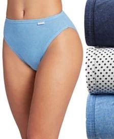 0c248c6369a5 Bali Women's Passion For Comfort Lace Hi Cut Panty - Black Lace - 6 ...