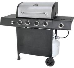 Gas Grill Backyard 4 Burner Stainless Steel BBQ Party Barbecue Outdoor Cooking for sale online Propane Gas Grill, Gas Bbq, Barbecue Grill, Grilling Sides, Stainless Steel Bbq, Built In Grill, Cast Iron Cooking, Bbq Party, Outdoor Cooking