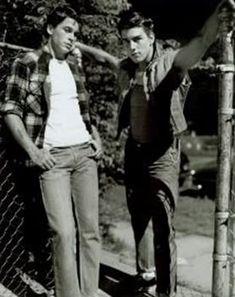 Sodapop Curtis (Rob Lowe) & Steve Randle (Tom Cruise)