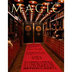 Magic Magazine April 2014 - Stories in MAGIC this month: The Illusionarium By Rory Johnston & Stan Allen Norwegian Cruise Lines' newest ship, the Getaway, features magic's newest showplace: The Illusionarium. Working with Jeff Hobson, NCL created an otherworldly multimillion-dollar venue where 'the world's greatest magicians' do battle twice nightly. Wittus Witt: It's All ... get it here: http://www.wizardhq.com/servlet/the-16664/magic-magazine-april-2014/Detail?source=pintrest
