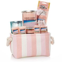 Yankee Candle Gift Baskets