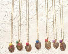 Bridesmaid Lockets  14k gold Locket Necklace   by NestingPretty, $480.00