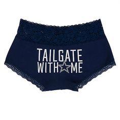 Dallas Cowboys PINK Tailgate With Me Lace Boyshort cdb1360da