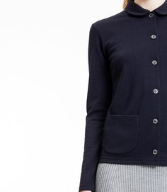 Cardigan by Sunspel crafted from the brand's signature Q12 vintage merino wool fabric. by norsestorewomen